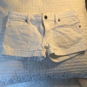 BCBG white shorts